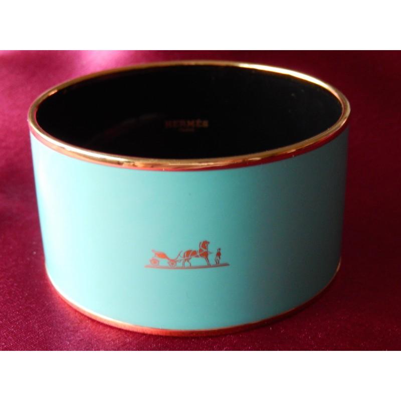 Bracelet émail Hermès Caléche