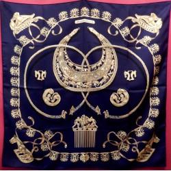 Carré Hermès Les cavaliers d'or