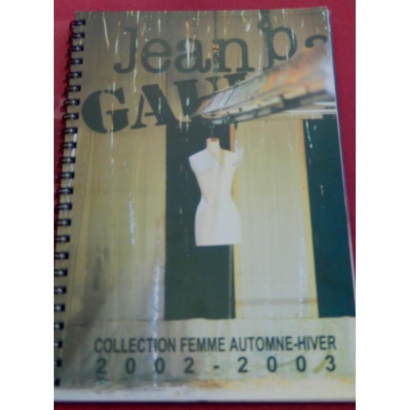 Dossier Jean-Paul Gaulltier haute couture femme automne-hiver 2002-2003