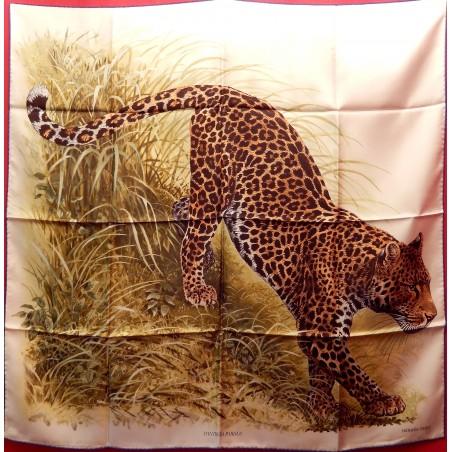 Carré Hermès Panthera pardus