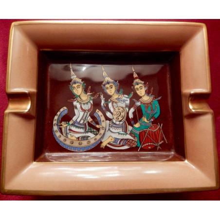 Cendrier vide-poches Hermès Danseuses du Siam