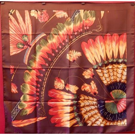 Carré Hermès Brazil II détail