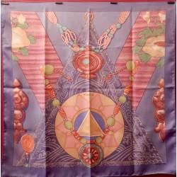 Carré foulard Hermès Tibet II