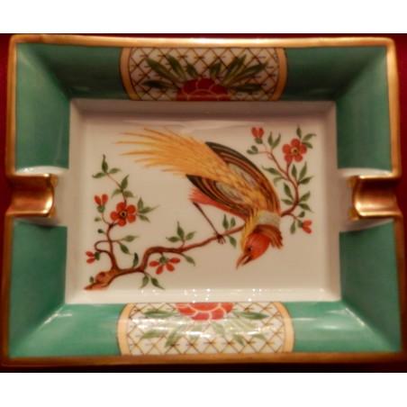 Cendrier vide-poches Hermès série oiseaux