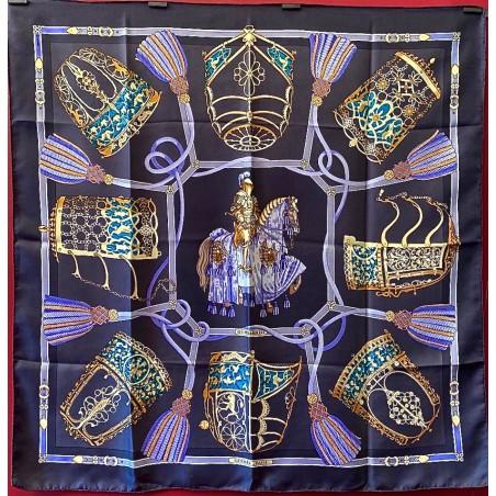 Carré foulard Hermès Les muserolles