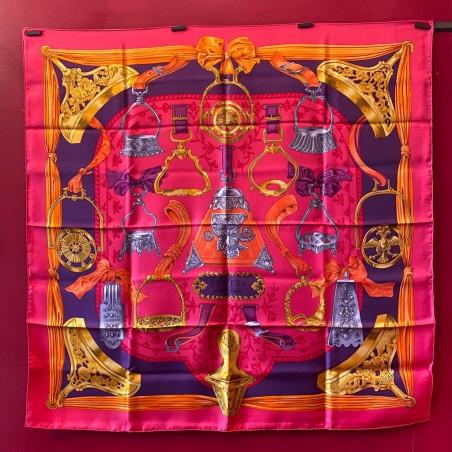 Carré foulard Hermès Etriers