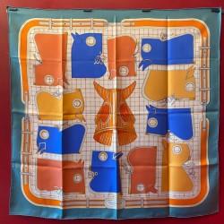 Carré foulard Hermès Camails