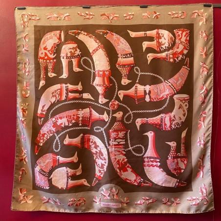 Carré foulard Hermès Ritote