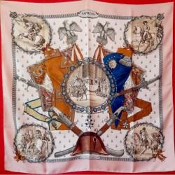 Carré foulard Hermès Napoléon