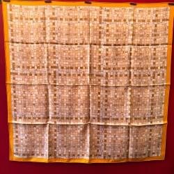 Carré foulard Hermès Bolduc...