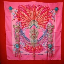 Carré foulard Hermès Mexique