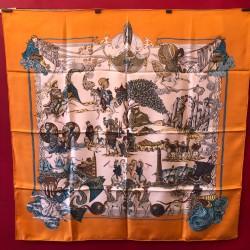 carré foulard Hermès Au fil...