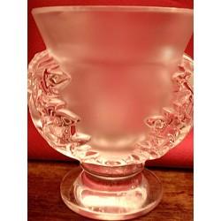"""Vase Lalique """"Chardons"""""""