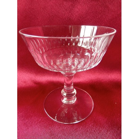 Coupes à champagne Baccarat Ecailles taille n°5777