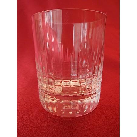 Verres godets à whisky Baccarat Nancy (hauteur 10,5 cm)